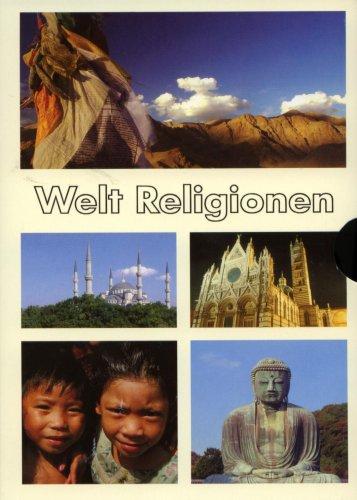Weltreligionen - Christentum / Islam / Hinuismus / Buddhismus / Judentum - 5 DVD Box