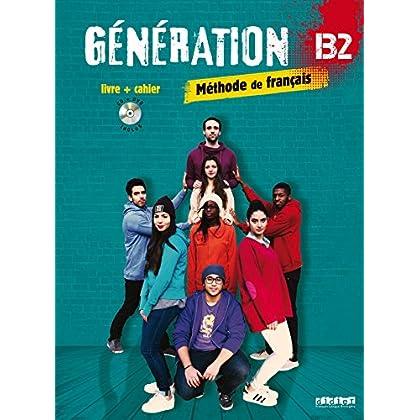 Génération 4 niv. B2 - Livre + Cahier + CD mp3 + DVD