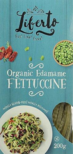 Liberto Organic Edamame Fettuccine 200 g (Pack of 2)