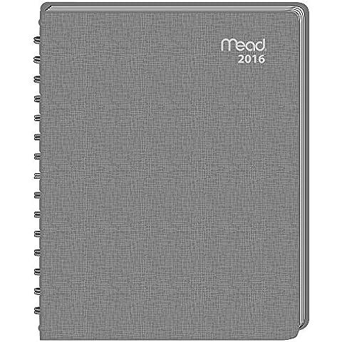 Mead Planificador Mensual 2016, impresión grande, 6 7 8 x 22,23 cm/Tamaño de página - el Color puede variar colores surtidos (TLMM 02)