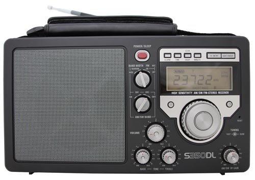 Lextronix S350 DeLuxe Radio für UKW/MW/Kurzwelle - Schwarz