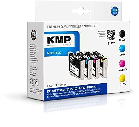 KMP Multipack für Epson Stylus D78/DX4000, E107V
