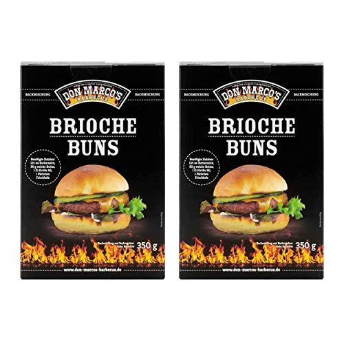 Don Marco`s KS0025 Don Marco´s Barbecue Brioche Buns Backmischung 2er-Set