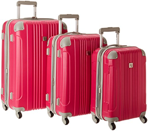travelers-choice-beverly-hills-country-club-newport-3-piece-hardside-spinner-set-magenta