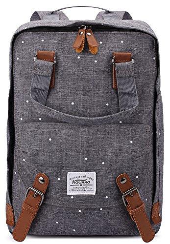 KAUKKO-Stylisch-Kinder-Rucksack-Laptop-Schultascheruckscke-Wanderrucksack-Universitt-Ruckscke-Daypack
