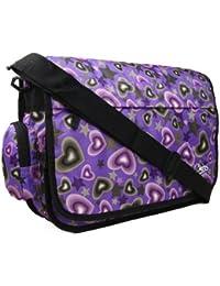 Brand New Girls Womens Love Hearts Uni School College Messenger Satchel  Shoulder Bag 97eb100869ab9