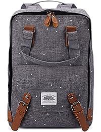 KAUKKO Stylisch Kinder Rucksack Laptop Schultascherucksäcke Wanderrucksack Universität Rucksäcke Daypack