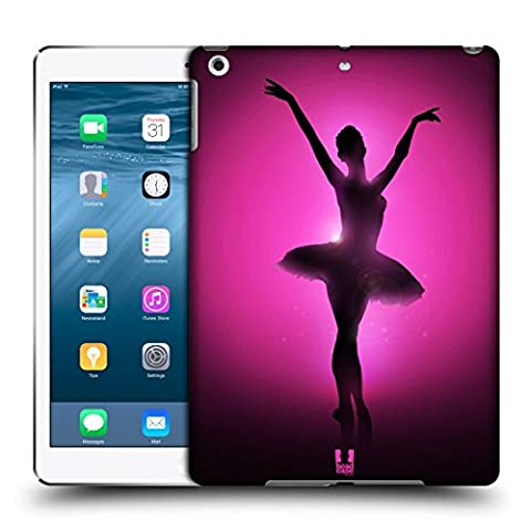 Head Case Designs Graceful Ballerina Silhouette Performers Hard Back Case for Apple iPad Air