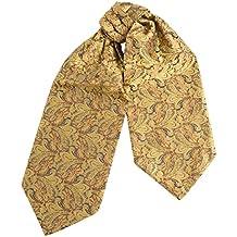 Elegante Krawatten, mit seidiger Textur für Herren, klassiche Tuchkrawatten in klassischem Seidendamast mit Blumendruck zwecks eines bunten Vermählungsereignisses
