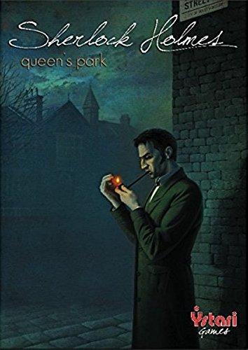 Asmodee - SHERL06 - Jeu de Stratégie - Extension Sherlock Holmes - Queen'S Park