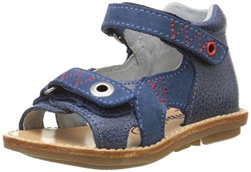 Minibel Kelony, Chaussures Bébé marche bébé garçon Bleu (10 Jean/Jean)