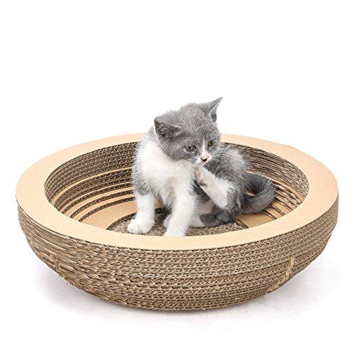 L&XY Wellpappe Cat Pad Typ Dauerhafte Schutz Katze Klaue Haustier Katze Spielzeug Katze Klaue Schleifscheibe - Gute Katze Katze Schüssel