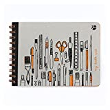 #9: 7mm™ My Doodle Pad Mini, 100 pages, Plain, Sketch Book, 14.5 x 20 cms