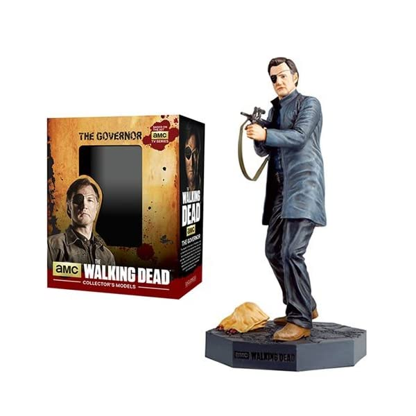 The Walking Dead The Governor Figure with Collector Magazine #4 by Walking Dead 1