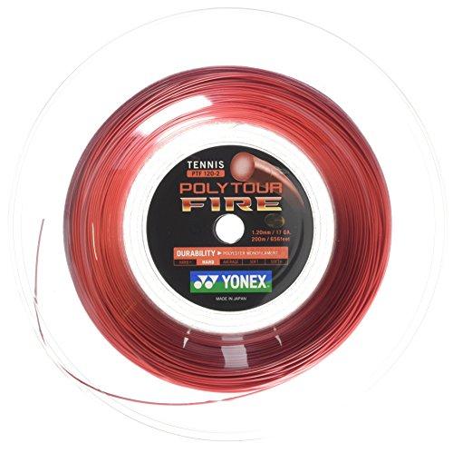 Yonex Poly Tour Fire String Reel-Rot, 1,2mm/200m