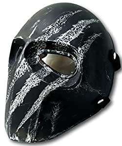 INVADER KING ARMY OF TWO MASK PAINTBALL AIRSOFT HELMET BB