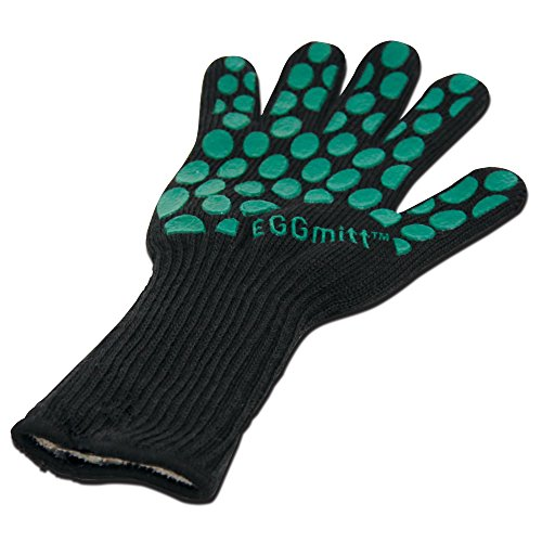 Big Green Egg Heat Resistant Eggmit Glove, Black