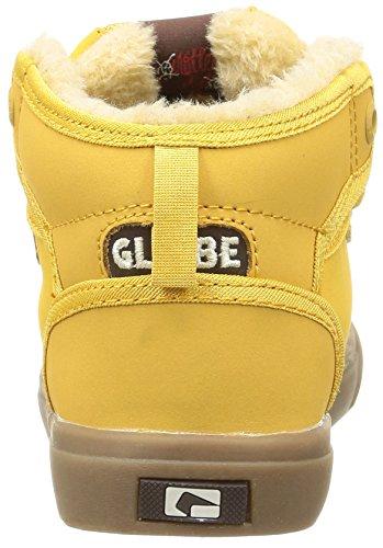 Globe - Motley Mid, Scarpe Da Skateboard per bambini e ragazzi Giallo (16240)