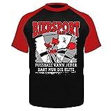 Männer und Herren T-Shirt Biersport Darts (mit Rückendruck)