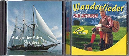 Lieder von der Küste bis in die Berge [2 CDs] (Compilation CD, 37 Tracks)
