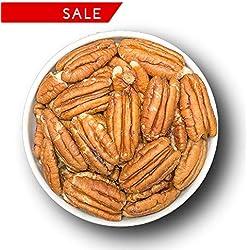 Pekannuss | Pekannusskerne | Pekannüsse | Pecannüsse | naturbelassen | ohne Salz | ohne Zucker | ohne Zusätze | Rohkost-Qualität und ideal für Veganer, Sportler und Studenten | PREMIUM QUALITÄT by 1001 Frucht | 1kg