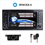 17,8 cm double DIN in dash stereo per Volksvagen Touareg con lettore DVD GPS Navigation video audio FM radio AM Bluetooth USB 3 G IPS capacitivo Touch Screen libero 8 GB mappa card
