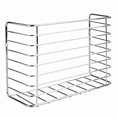 InterDesign Classico Cabinet Kitchen Wrap Organizer, Chrome