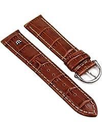 Maurice Lacroix Ersatzband Uhrarmband Leder Krokooptik braun 20mm 273062023S-HN