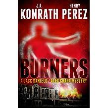 Burners - A Jack Daniels/Alex Chapa Mystery (English Edition)