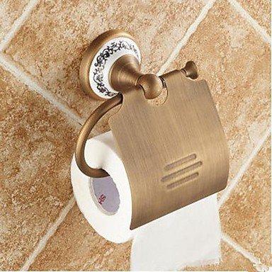 PIGE Antique Brass Toilettenpapierhalter