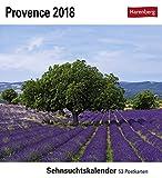 Provence - Kalender 2018: Sehnsuchtskalender, 53 Postkarten