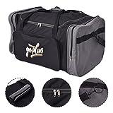 COSTWAY Goplus Sporttasche Trainingstasche Reisetasche Fitnesstasche Sportbag Duffle S/M/L (L)