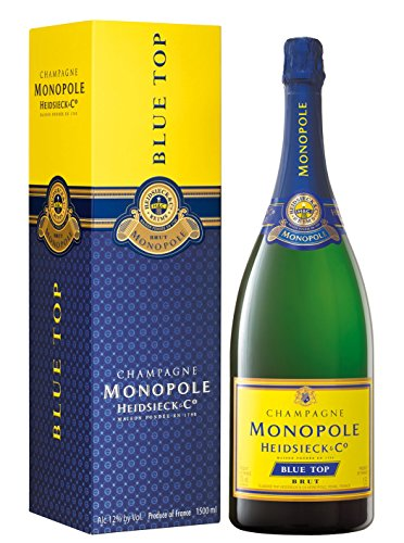 Heidsieck Monopole Blue Top Brut Magnum in Geschenkverpackung Champagner (1 x 1.5 l)