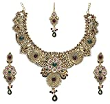 Mithya Gold Plated Jewellery Set for Women (Pink) (2000315)