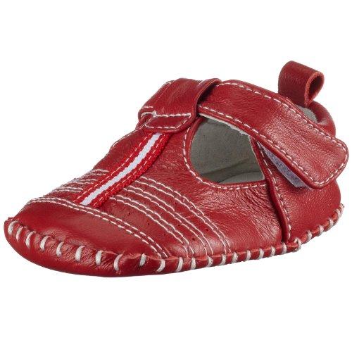 Playshoes 107723, Chaussures mixte enfant Rouge
