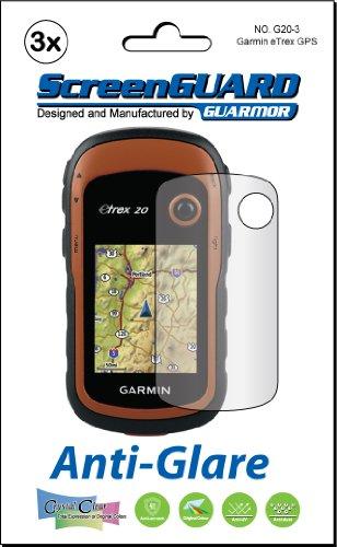 3x Garmin eTrex 102030GPS Portatile Premium antiriflesso finitura opaca Pellicola protettiva per schermo LCD Kit (pacchetto da Guarmor)