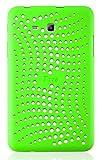 JAMMYLIZARD | Schutzhülle für [ Samsung Galaxy Tab 3 Lite 7.0 / Tab 3 V ] aus mattem Silikon, GRÜN