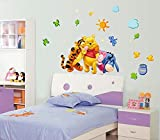 The Splash Decorative Cartoons Wall sticker (Multicolor, Wall Covering Area - 120(w) x 70(h) cm)