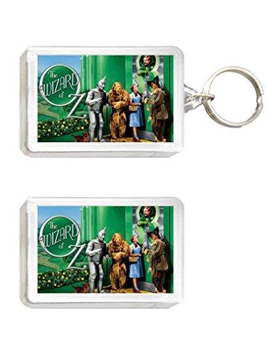 Schlüsselanhänger und Magnet der Zauberer von Oz