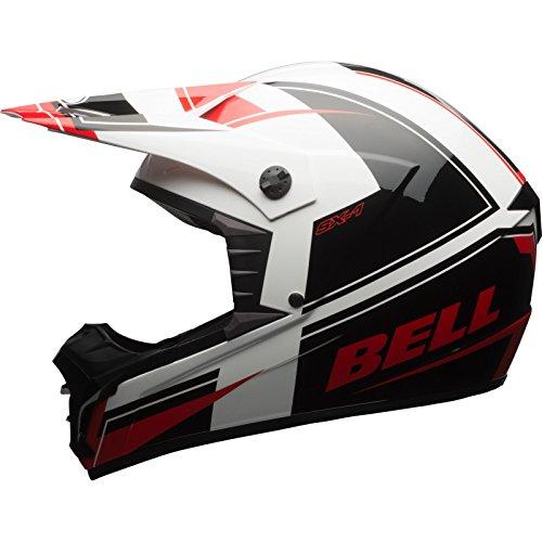 Bell Cascos MX 2017SX-1adultos casco, Holeshot Rojo/Negro, talla 2