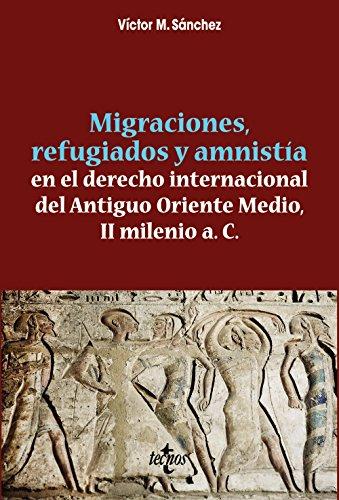 Migraciones, refugiados y amnistia en el derecho internacional del Antiguo Oriente Medio, II Milenio a. C. (Ventana Abierta) por Víctor M. Sánchez