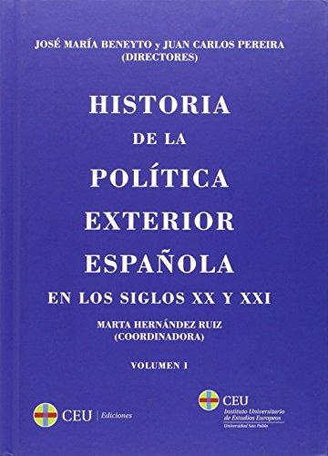 Historia de la política exterior española en los siglos XX y XXI: 2