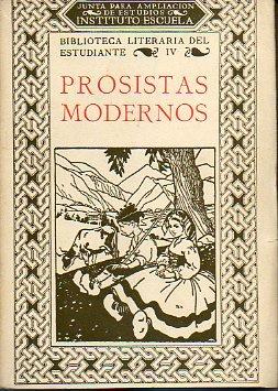 PROSISTAS MODERNOS. Selección hecha por... Dibujos de F. Marco.
