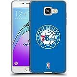 Officiel NBA Plaine Philadelphia 76Ers Étui Coque en Gel molle pour Samsung Galaxy A5 (2016)