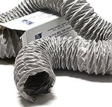Klimapartner Greyflex 125 mm Lüftungsschlauch Klimaschlauch