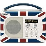 Pure Evoke Mio Union Jack Radio portable Multicolore