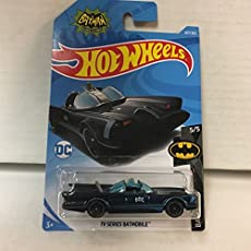 Sadbhavna Hot Wheels TV Series Batmobile Batman Car (307/365 2018, Multicolour)
