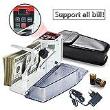 Mini contamonete portatile per la maggior parte delle banconote, macchina contasoldi EU-V40, attrezzatura finanziaria, commercio all'ingrosso