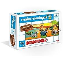 Dujardin - 39010 - Kit De Loisirs Créatifs - Mako Moulages Savane - 6 Moules