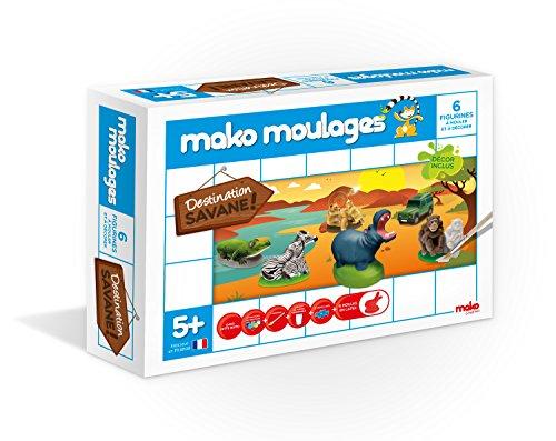 dujardin-39010-kit-de-loisirs-creatifs-mako-moulages-savane-6-moules